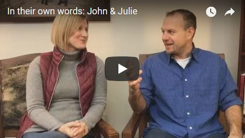 John and Julie share on RINGS